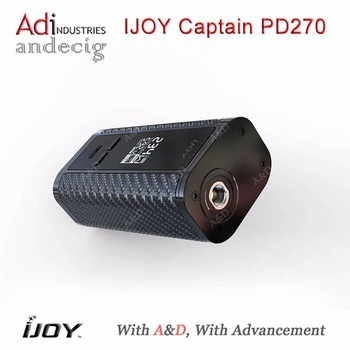 Big Size Screen 6000mAh 234W Box Mod Ijoy Captain Pd270 Box Mod