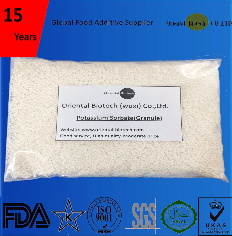 High Quality Factory Price Food Preservative FCCIV Potassium Sorbate