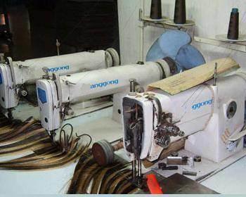 hair sewing machine