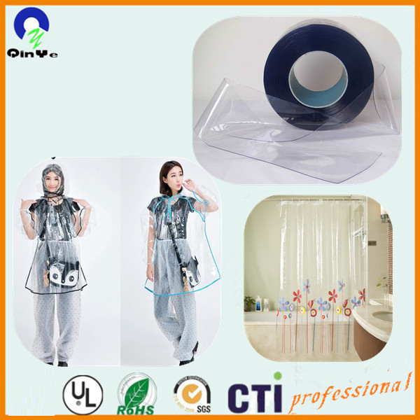 Plastic Super Clear Soft PVC Film for Packing Bag