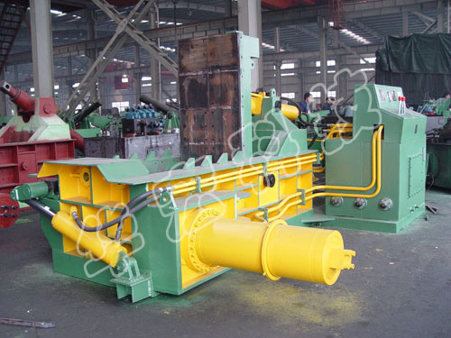 Hydraulic Scrap Metal Baler Recycling Machine