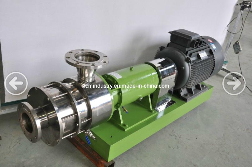Mass Production Pipeline High-Shear Emulsifier