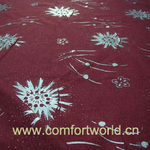 Silver Printing Sofa Fabric (SHSF01022)