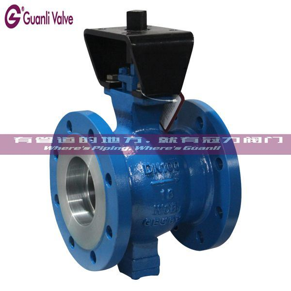 CF8 CF8M WCB V Segment Ball Valve for Water Treatment