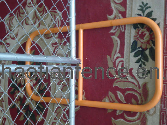 Temporary Chain Link Fence Panel, Temp Chain Link Panel