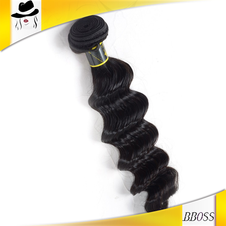 Loose Weaving Brazilian 100 Percent Hair Weft