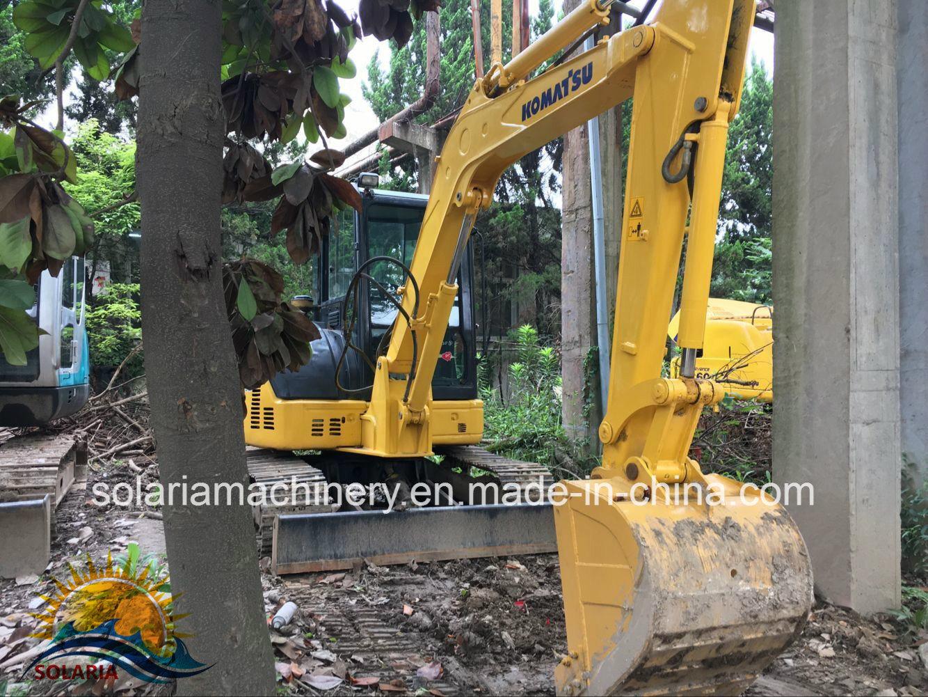 Used Komatsu PC55mr Excavator Original J...