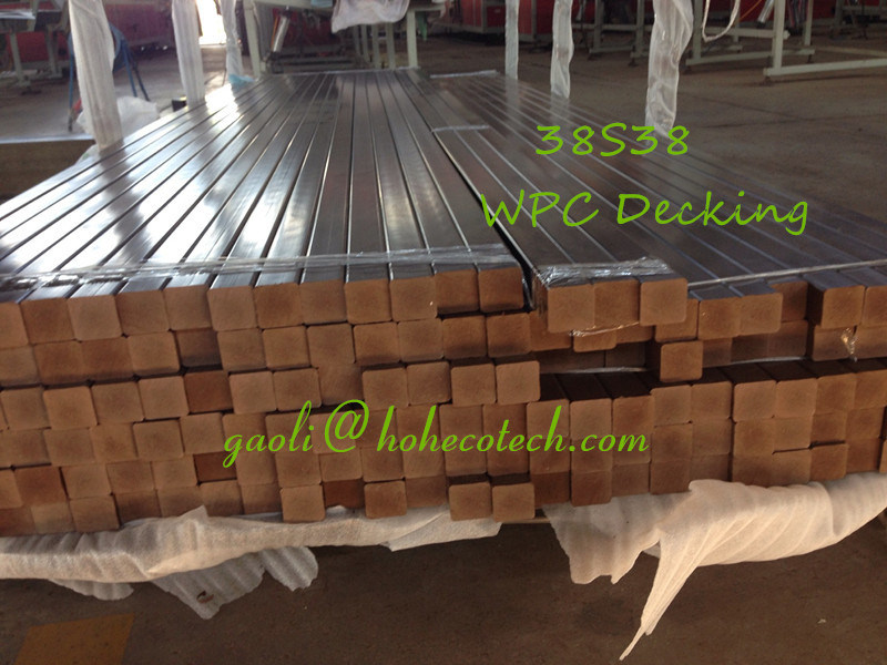 Anti-Corrosion Wood Composite PE Recycle Joist WPC Flooring Understructure