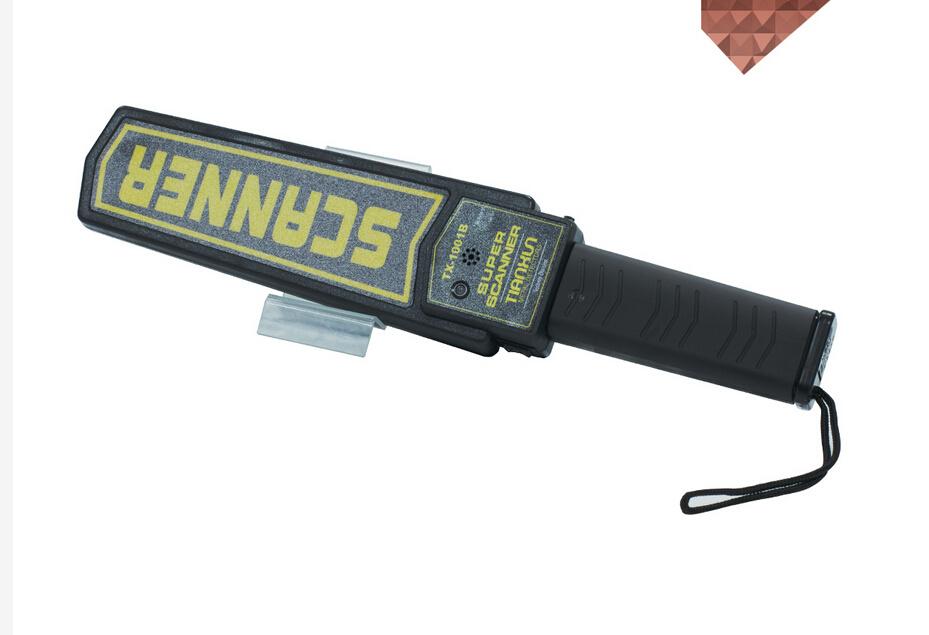 Hand Held Metal Detector Super Wand