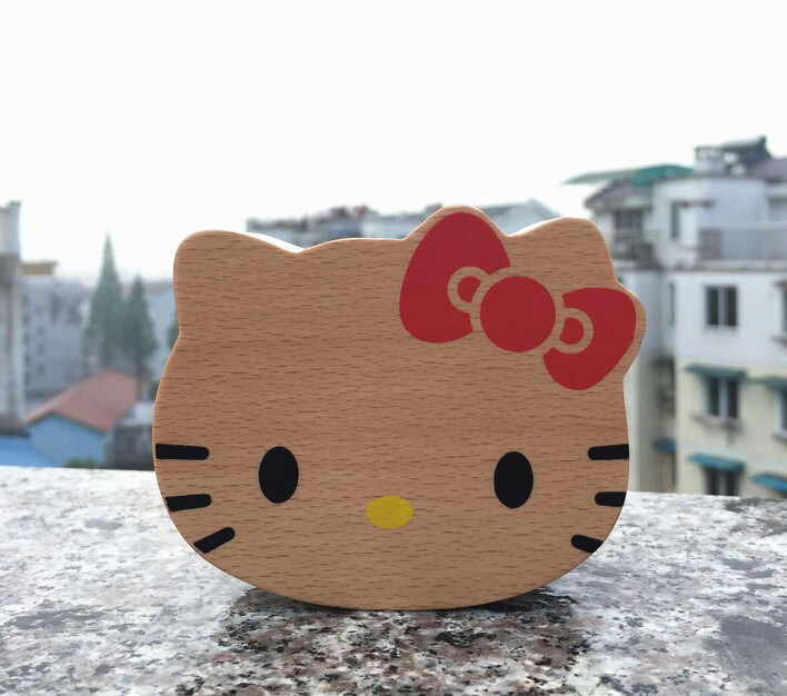 Custom Cartoon Shape Wooden Music Box