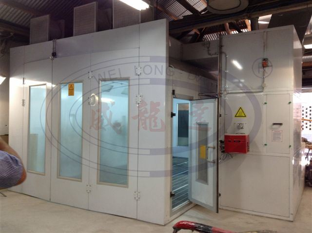 Water Based Paint Spray Booth with Front and Rear Doors Wld8400