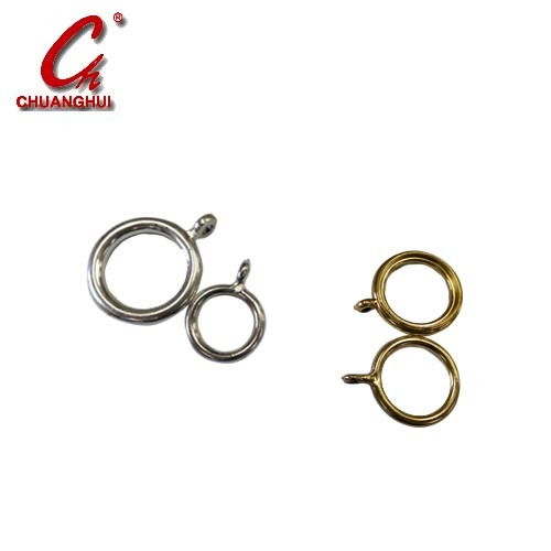 Furniture Hardware Curtain Fittings Cheap Plastic Rod Ring