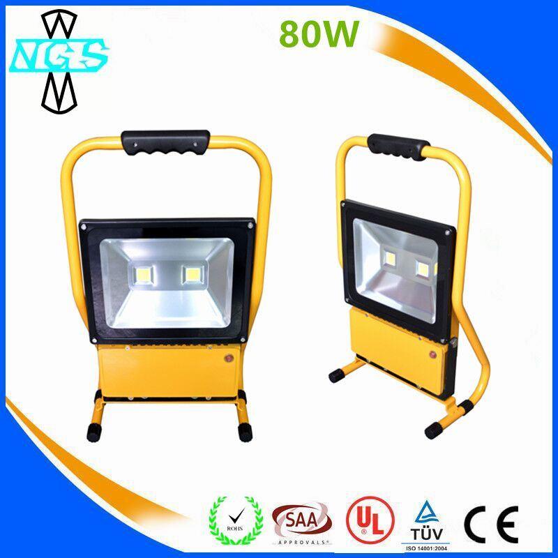 IP65 Ce RoHS LED Emergency Rechargeable LED Flood Light