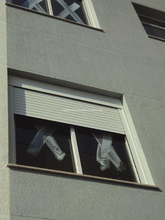 Outdoor Installed Aluminium Window Roller Shutter