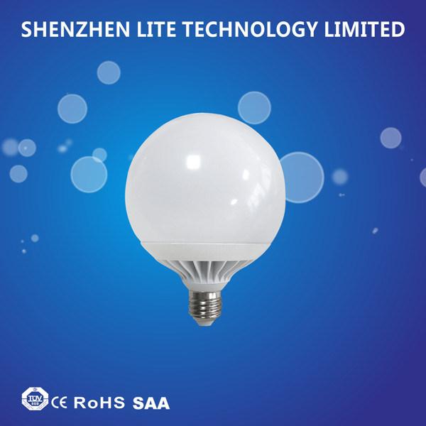 Ce RoHS 100lm/W 360 Degree G95 G120 LED Globe Bulb 18W 24W E27 B22