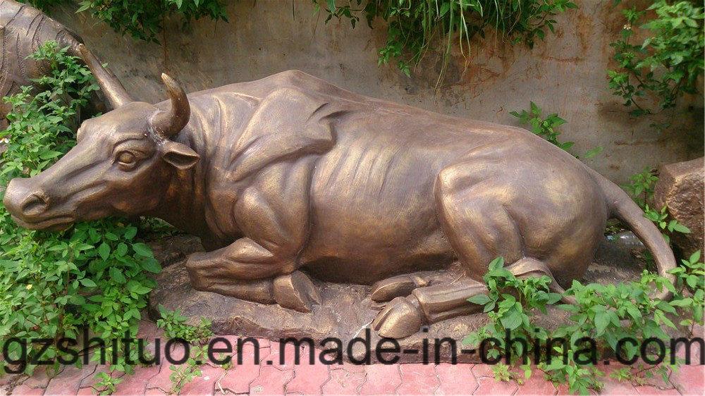 12 Zodiac Signs, Outdoor Garden Decoration Cast Copper Sculpture