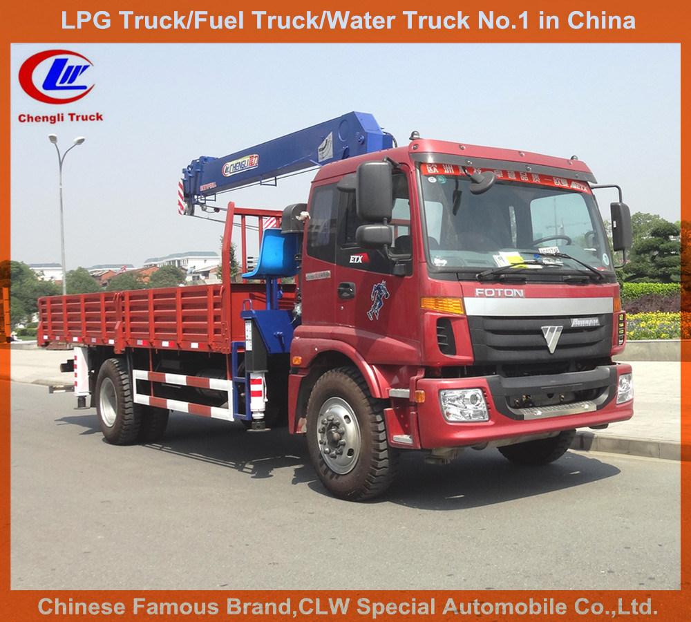 Telescopic Truck-Mounted 8tons Foton Crane Truck