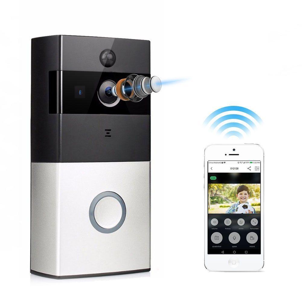 Home Security Intercom PIR Detection Ring Smart Dingdong Doorbell WiFi