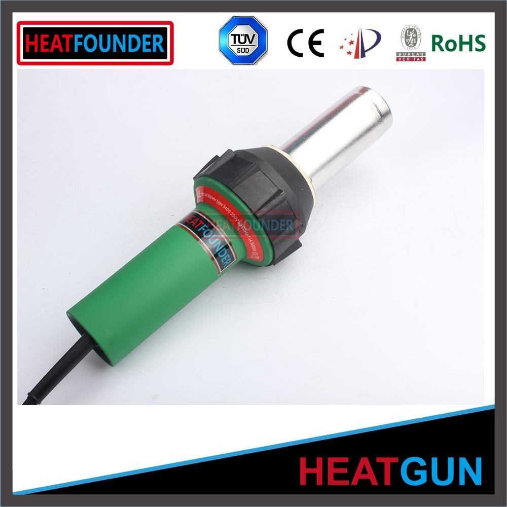 Temperature Adjustable Hot Air Gun PVC Welding Machine
