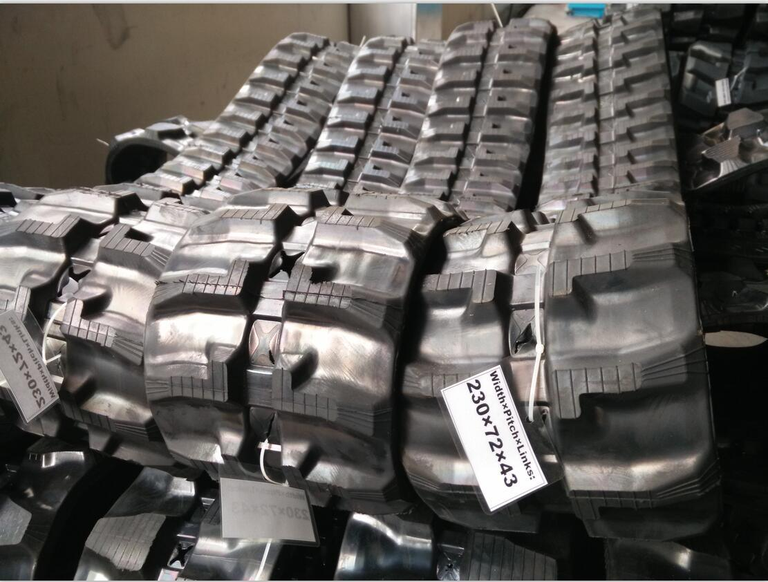 Rubber Track Rt 230X43X72 Cat