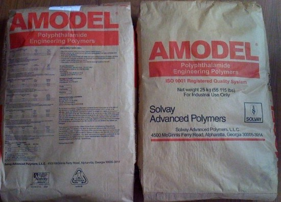 Solvay Amodel a-4122 Hr (PPA A4122 HR) Wh117 White Engineering Plastics
