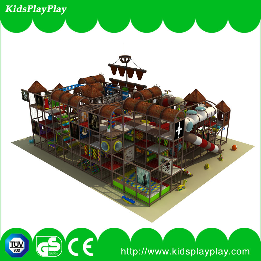 Pirate Ship Commercial Kids Indoor Playground Equipment (KP-141110)
