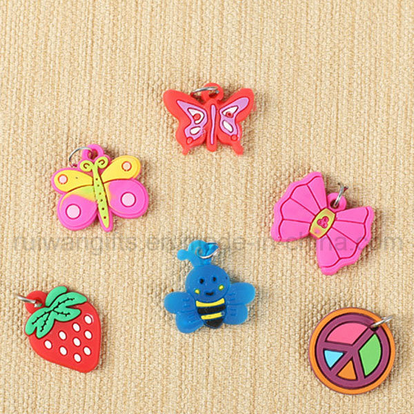 Wholesale PVC Kids Wristband Charms for Kids DIY Wristband