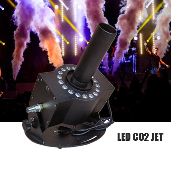 LED CO2 Cannon, LED CO2 Jet