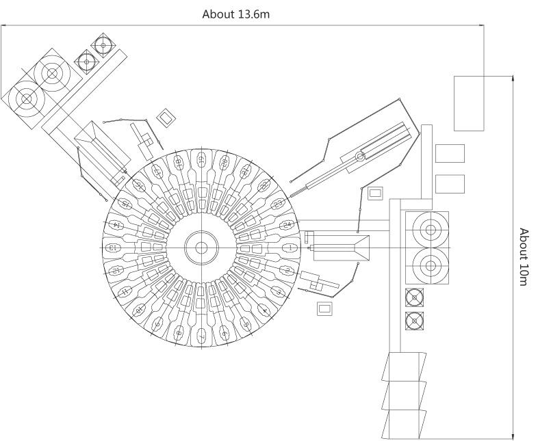 Xz0056 TPU, Rubber, Polyurethane Shoe Sole Injection Molding Machine