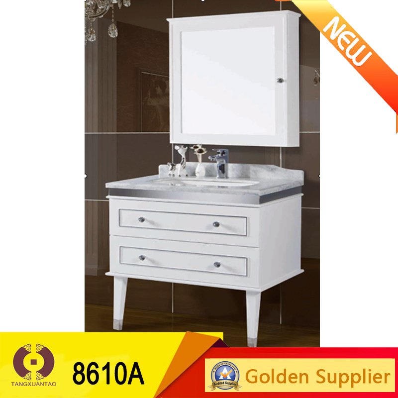 Natural Marble Home Bathroom Furniture Cabinet Wash Basin (8610A)