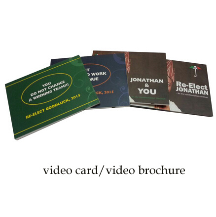 5.0 Inch LCD Digital Video Brochure