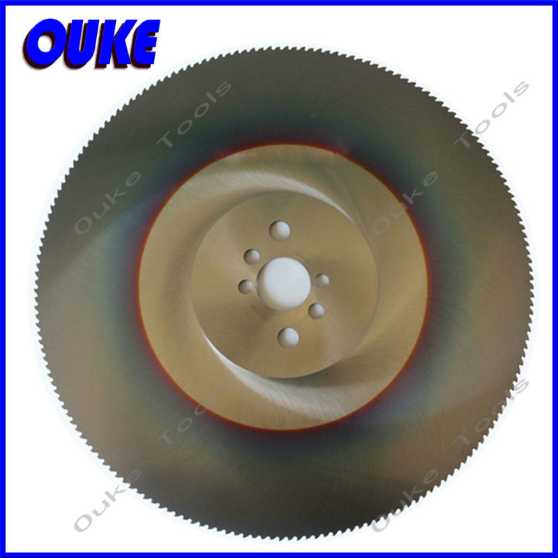 Tialn Coating HSS Dmo5 Circular Saw Blade for Stainless Steel
