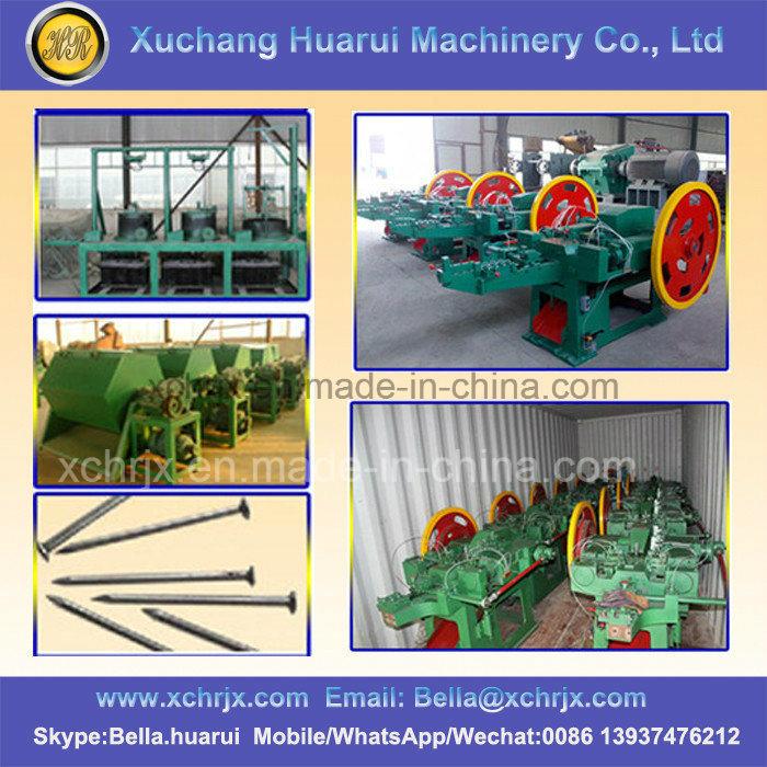 Steel/Iron/Copper/Concrete/Common Nails Making Machine/Nail Production Line