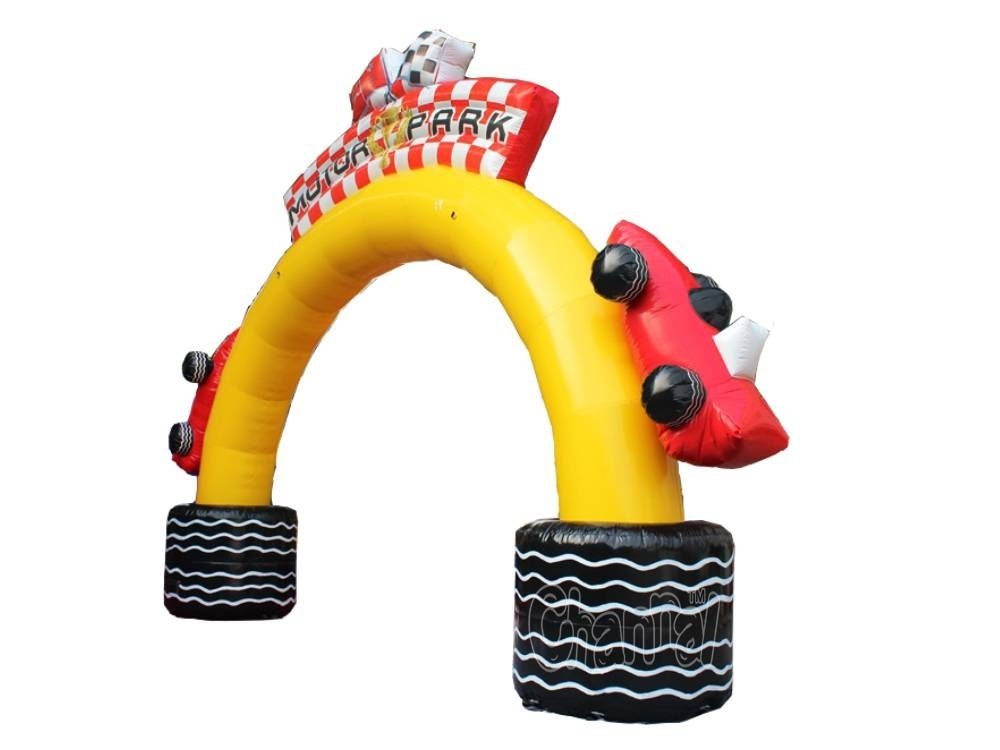 Race Car Inflatable Entrance Archway Chad709