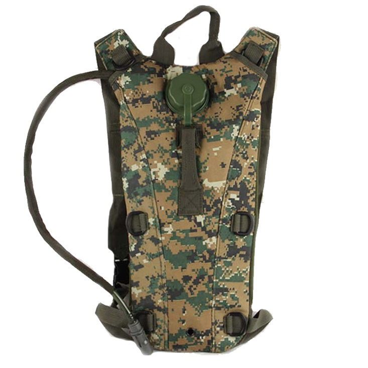 Anbison-Sports Us Army Military Tactical 3L Hydration Water Backpack