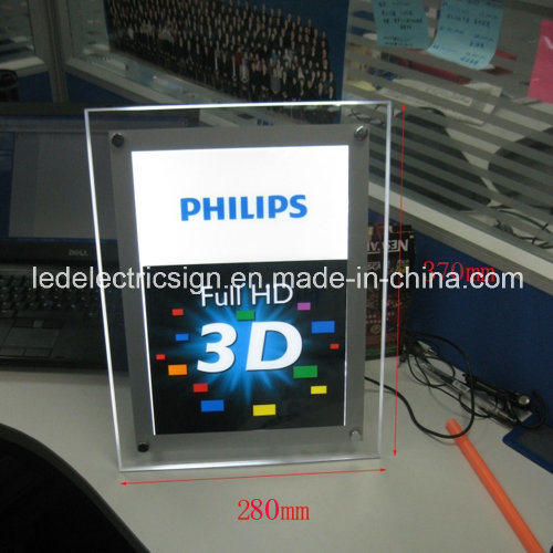 Film Advertisements for LED Light Box