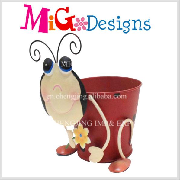 Metal Flower Planter Pot New Style Fashion Loyal Dog