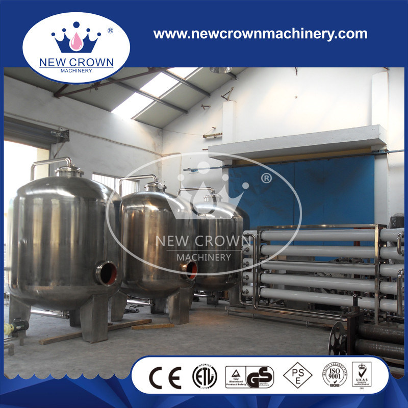 CE Certification 40tph RO Pure Water Treatment System in Beverage Production Line