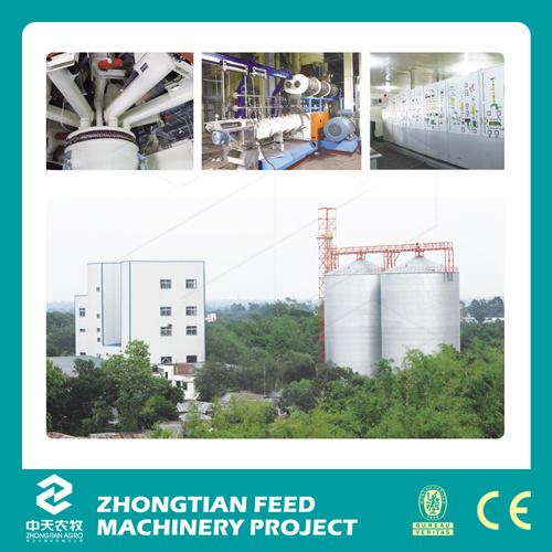 Aqua Feed Complete Engineering Production Line
