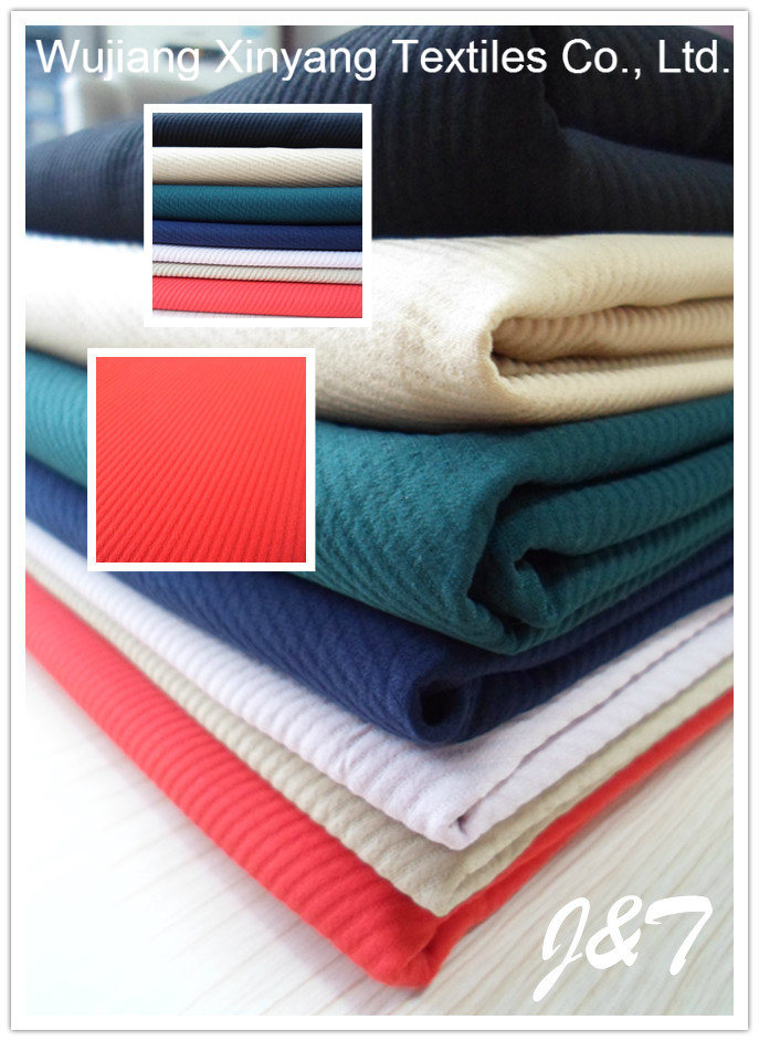 Polyester Double Twill Fabric, Woven Fabric for Dress