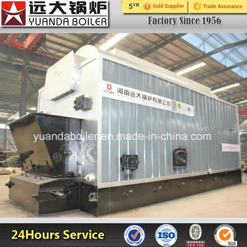 Dzl 0.7MW to 29MW Central Heating Coal Fired Hot Water Boiler