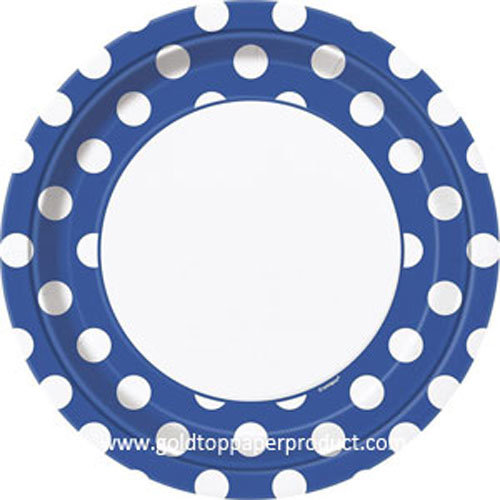 """Disposable Paper Plates 18cm, 23cm and 26cm 7"""" 9"""""""