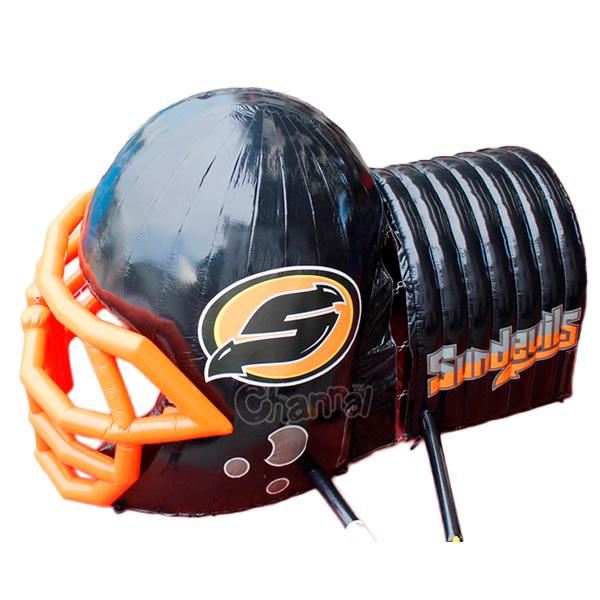 Customized Inflatable Football Helmet Tunnel Chad365