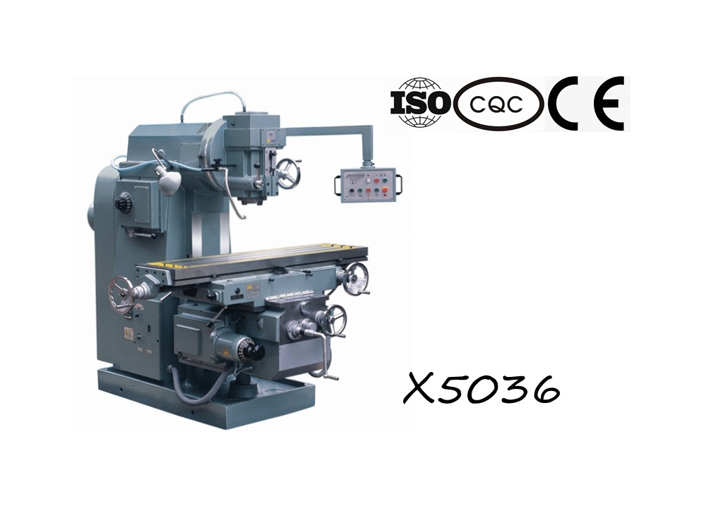 X5036 Vertical Knee-Type Milling Machine