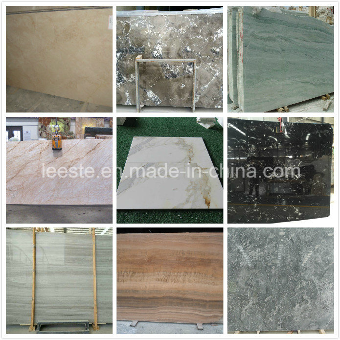 White/Yellow/Black/Red/Green Natural Stone Marble for Floor/Wall