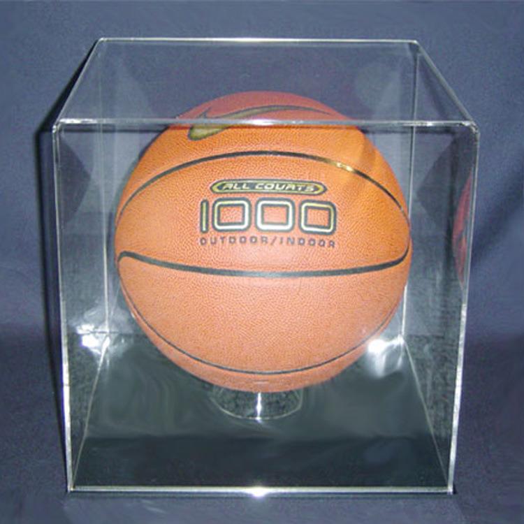 Acrylic Basketball Case, Acrylic Basketball Display Box, Acrylic Football Display Case