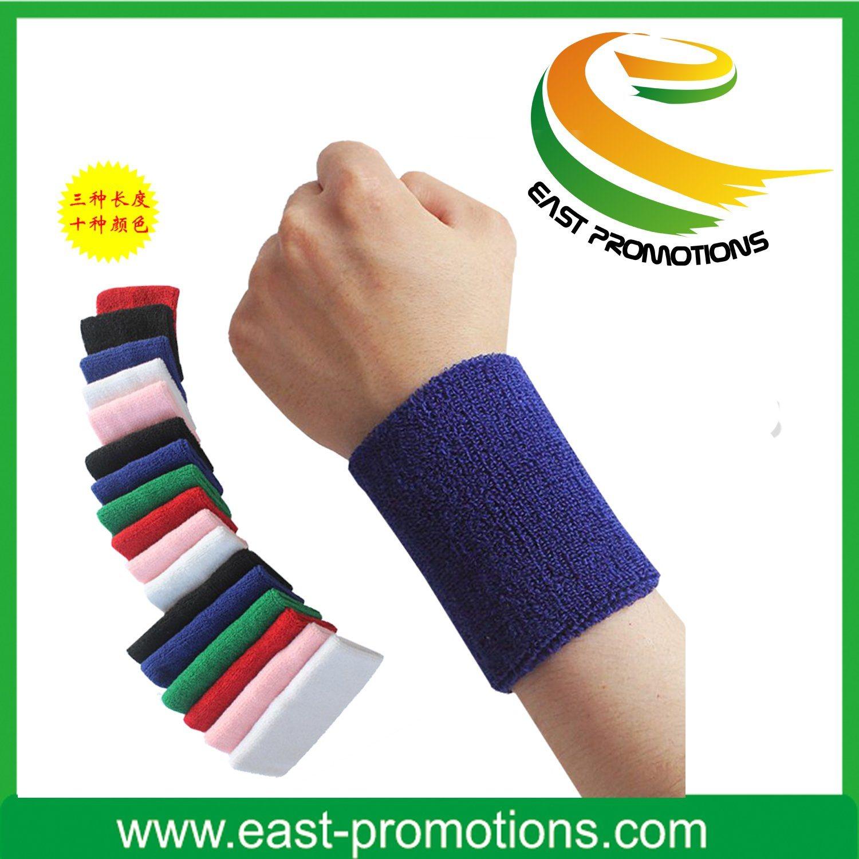 Promotion Sport Cotton Wristband Sweatband Headband Set