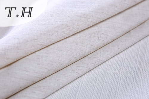 Linen Fabric Manufacturers 100% Polyester Design by China