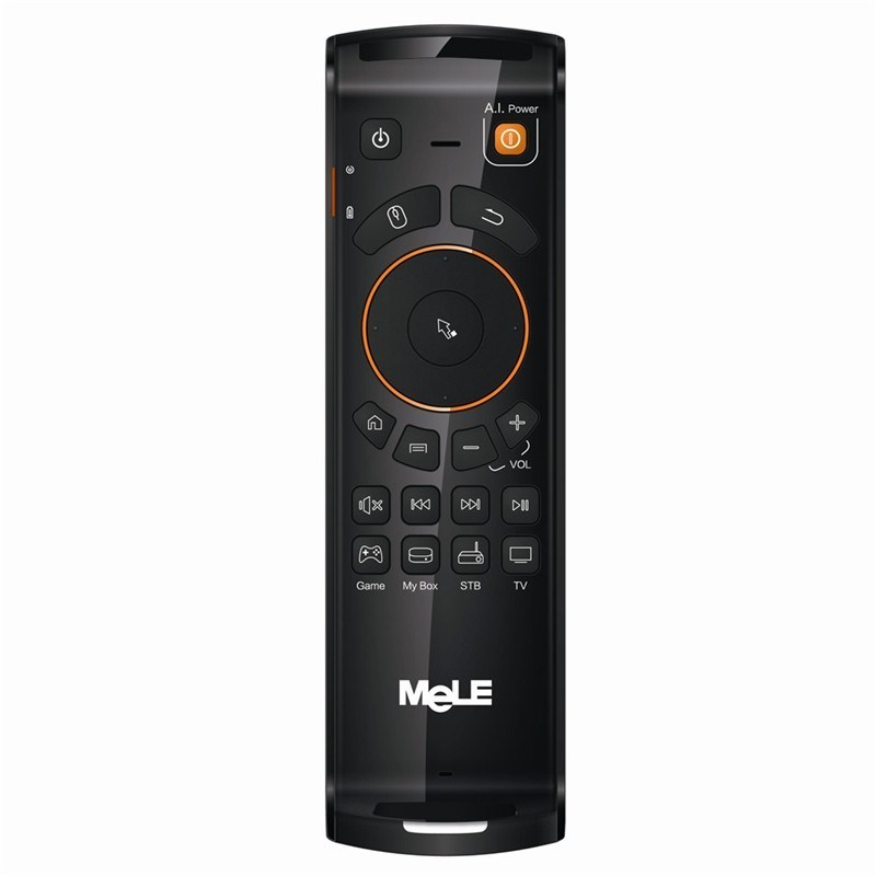 2016best Selling 2.4G Air Mouse for Android TV Box Mele F10 PRO Remote Control Fly Mouse