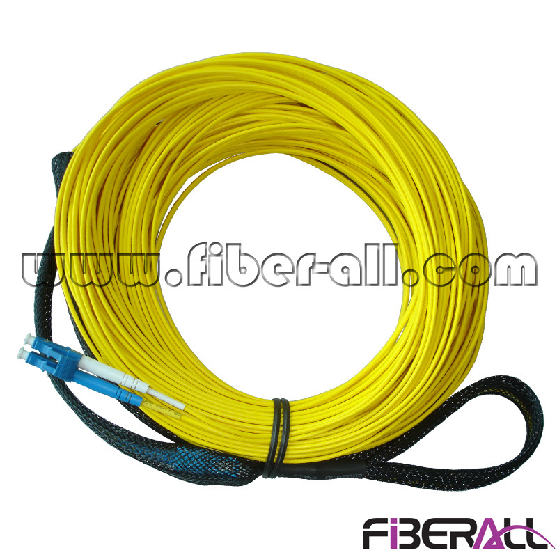 LC Optical Fiber Patch Cord with Pulling Eye